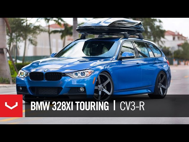 BMW 328xi | Kat's Lady Driven Wagon | Vossen CV3-R