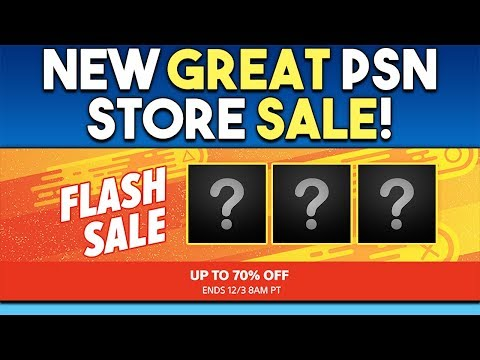 New Great PSN Store Sale! Huge PS4 RPG Announcement Soon?