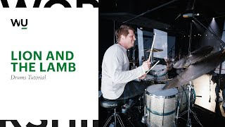 lion and the lamb – bethel music drums song tutorial