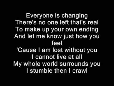 Puddle of Mudd - Blurry (lyrics)