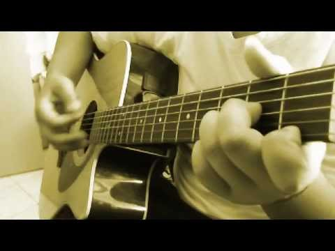 aerosmith- crazy acoustic guitar cover+ chords