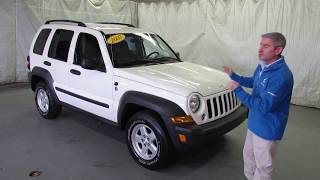 2007 Jeep Liberty Sport 4WD walkaround