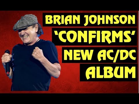Brian Johnson 'Confirms' New AC/DC Album! Is Axl Rose On It?