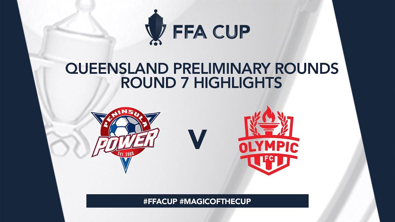 FFA Cup R7  - Peninsula Power vs. Olympic FC Highlights