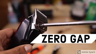HOW TO ZERO GAP CLIPPERS & TRIMMERS (EASY)