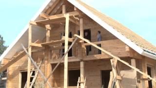 Дом из профилированного бруса. Проекты деревянных домов.МОГУТА(Как построить дом из дерева?Как правильно спроектировать банный дом?В чем плюсы и минусы клееного бруса?..., 2014-08-27T08:00:09.000Z)