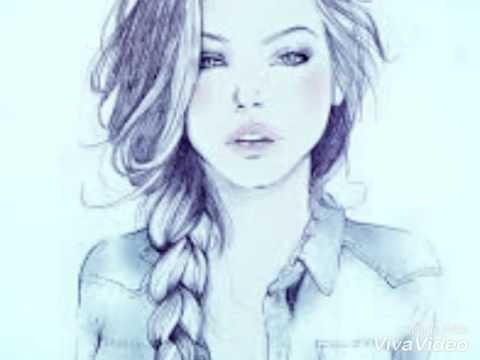 А💟F Рисунки Красивых девушки