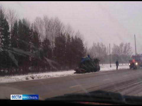 Смертельная авария в Рыбинске, грабитель с игрушечным пистолетом и опасный мужчина в Ярославле