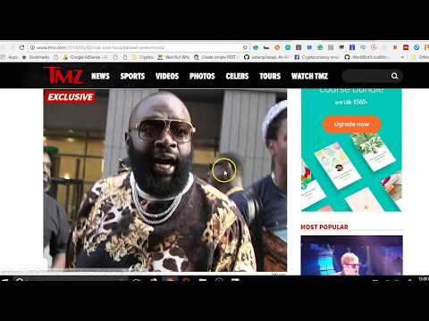 TMZ: Rick Ross COLLAPSES - LIFE SUPPORT - point of DEATH!
