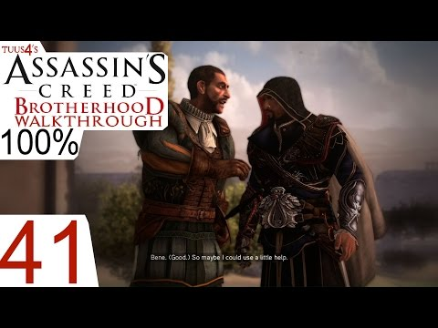 Assassin's Creed: Brotherhood (100%) Walkthrough Part 41 - The Situation Is Under Control
