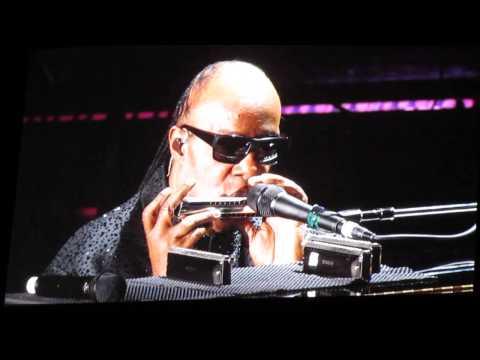 Stevie Wonder Harmonica Solo Live 2014