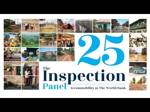25th Anniversary of the World Bank Inspection Panel