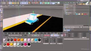 Урок 7   Анимация автомобиля