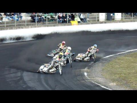 Kevin Wölbert vs Robert Lambert (Osterpokal Speedway - Güstrow 2015)