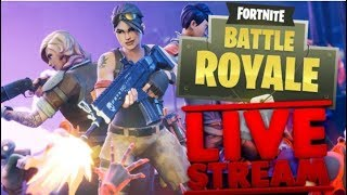 FORNITE LIVESTREAM COME PLAY WITH ME! VICTORY ROYALES! LIT STREAM