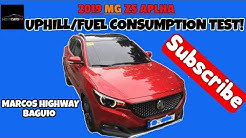 MG ZS ALPHA : FUEL CONSUMPTION UPHILL TEST (Baguio Marcos Highway)