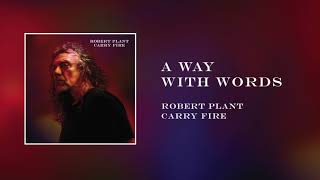 Скачать Robert Plant A Way With Words Official Audio