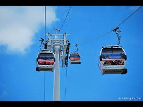 تلفريك أنشول الساحليه بجاكرتا SkyLift cable car Ancol Jakarta