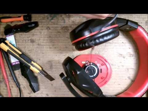 Выявление неисправности и ремонт наушников GEMIX W360 / Headphones Repair