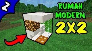 Video ✔ Minecraft: Cara membuat Rumah Modern Ukuran 2x2 ! download MP3, 3GP, MP4, WEBM, AVI, FLV Oktober 2018