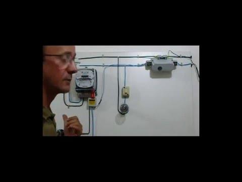Anti furto de energia elétrica, Anti theft of electric power.