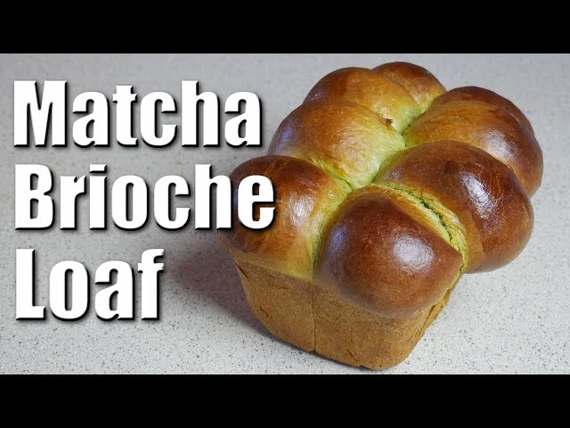 Matcha Brioche Loaf | Baking With ChefJohnReed