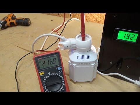Обзор Teplocom ST-222. Простой и надежный стабилизатор для газового котла