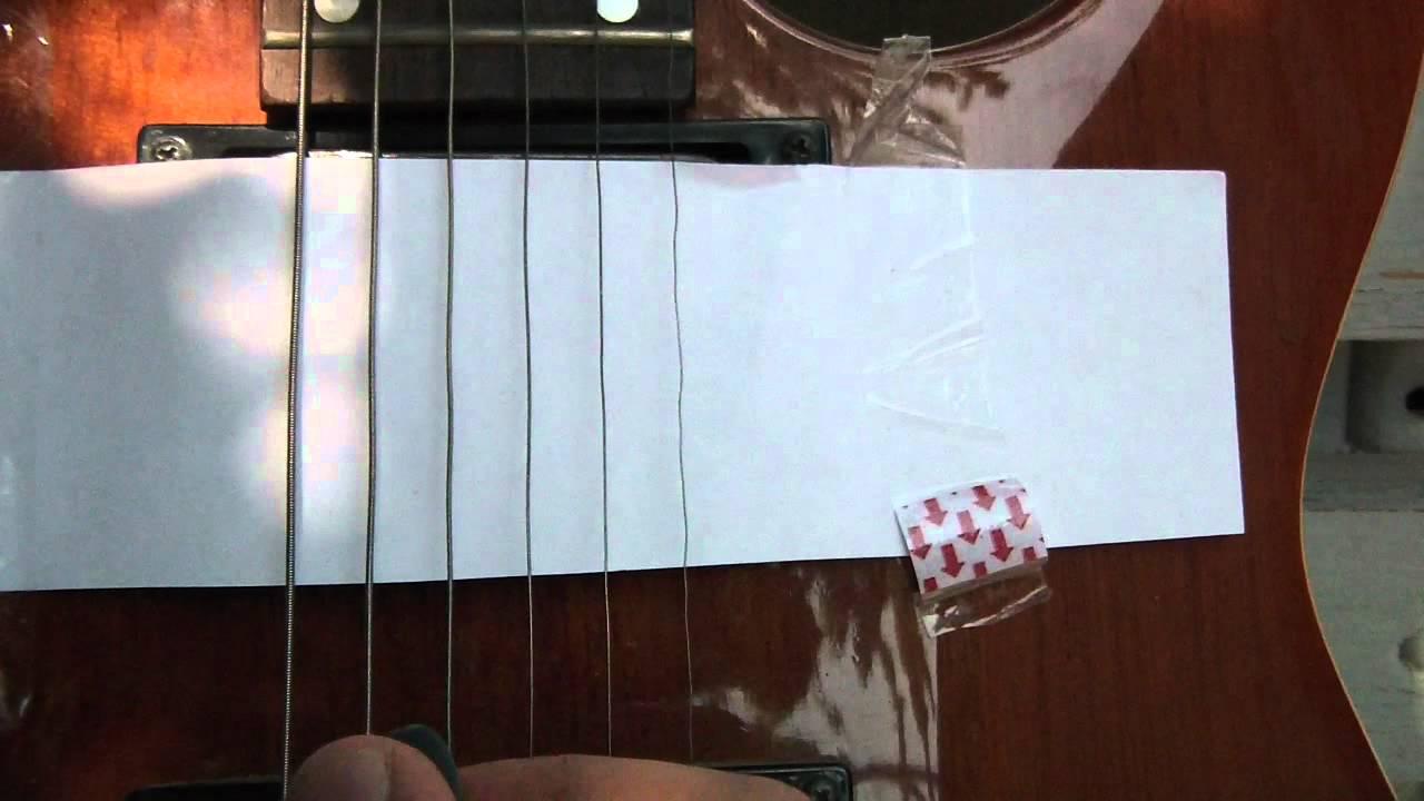 electric guitar string stroboscopic effect rolling shutter youtube. Black Bedroom Furniture Sets. Home Design Ideas