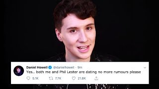Daniel Howell Confirms He's Dating Phil Lester (PROOF)