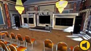 MAIN DIVISION PROMO #6 Государственный комплекс «Дворец конгрессов». Мраморный Зал.(Пример возможностей компании Main Division по 3d моделированию. Модель