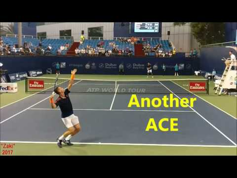 Tennis: How to Serve: Roger Federer, Berdych, Garcia-Lopez, Pouille, Paes, Brown, Nestor