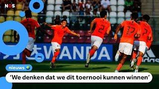 Oranje onder 17 jaar naar halve finales WK