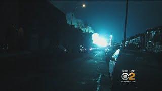 Con Edison Electric Malfunction Lights NYC Sky An Eerie Blue Hue
