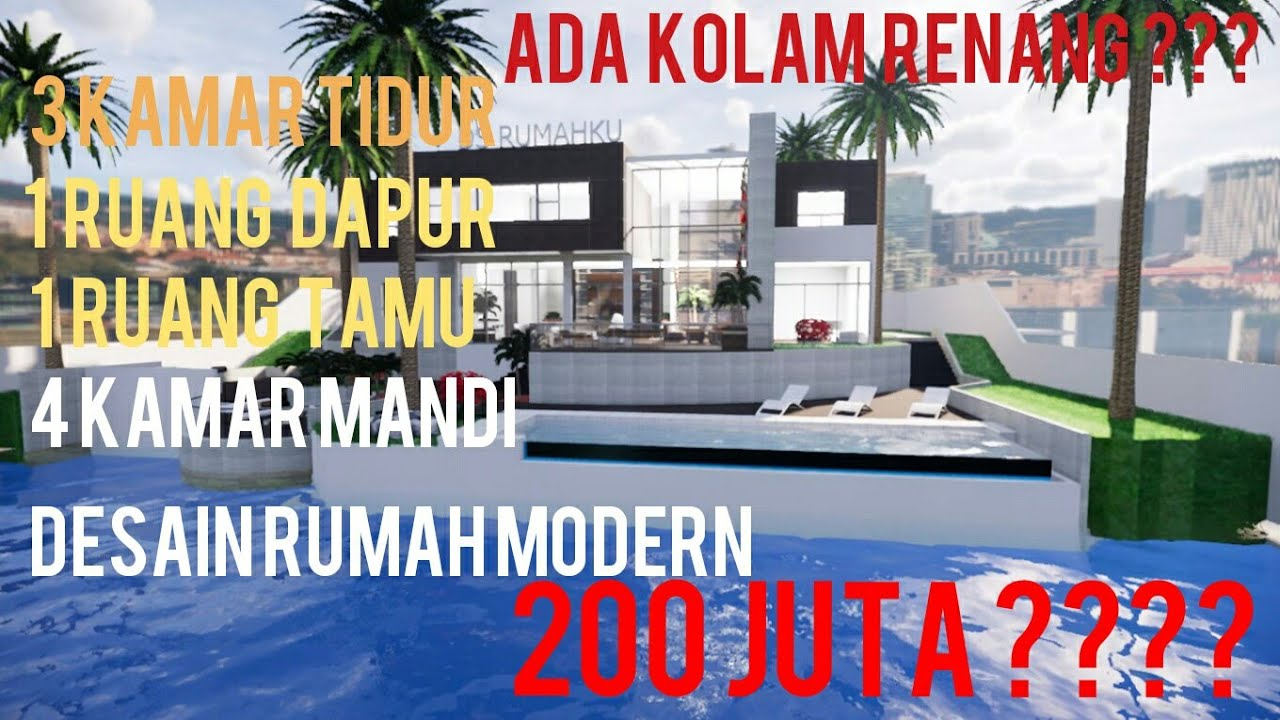 Motif Rumah Mewah Minimalist House Plans 12x8 With 3 Badroom