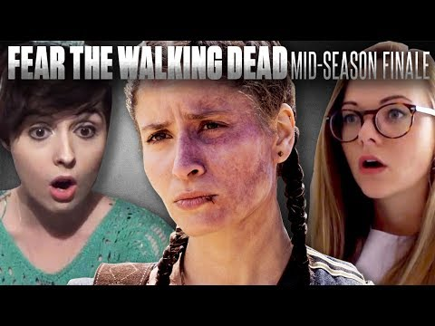 Fear the Walking Dead: Double Episode Mid-Season Finale - Fan Reaction Compilation!