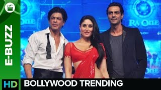 SRK & Bebo groove at RA.One music launch