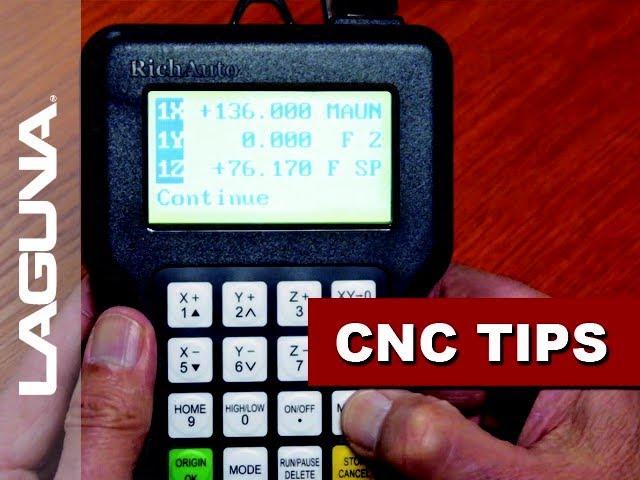 CNC Tech Tips Vol508 - Handheld Controller Utilization   Laguna Tools