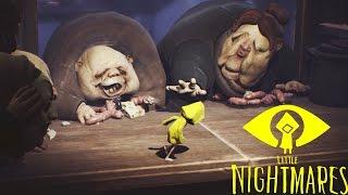 TODOS INTENTAN COMERNOS!! Little Nightmares #5