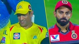 Dhoni's Epic Smile After Winning The Match | CSK Vs RCB Match Hilights | Virat Kohli | IPL 2019