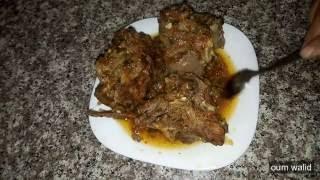 شهيوات ام وليد لحم بالبصل و الطماطم روعة