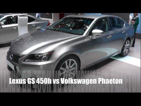 Lexus GS 450h 2015 vs Volkswagen Phaeton 2015