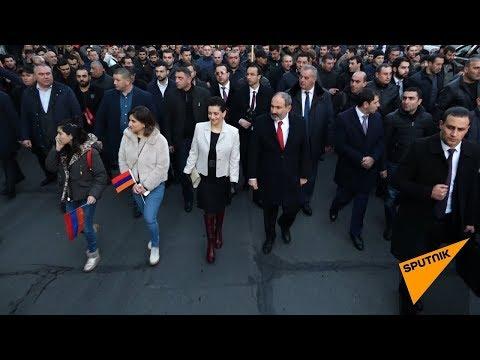 Шествие памяти жертв 1 марта прошло в Ереване