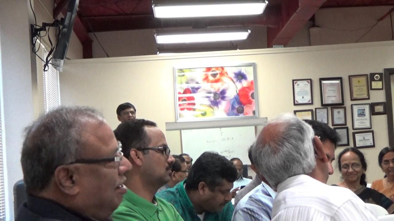 TANTEX - NNTV 116th - 38th TX Sahitya Vedika Guests Intro-9