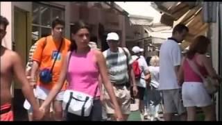Острова Греции: Санторини.(Дмитрий Крылов в передаче