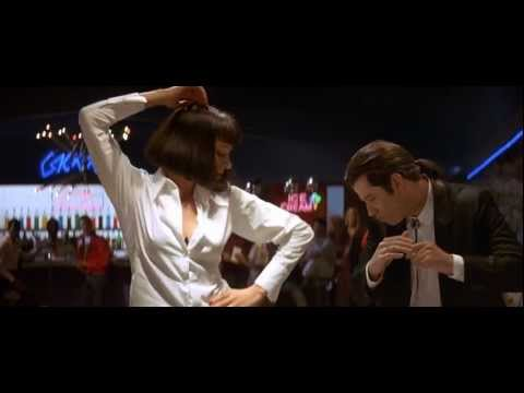 John Travolta and Uma Thurman Dance scene in Pulp Fiction