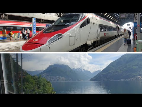 Milan to Zurich by EuroCity train