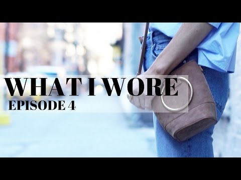 WHAT I WORE | EPISODE 4 | Out and About in Soho and Midtown NYC