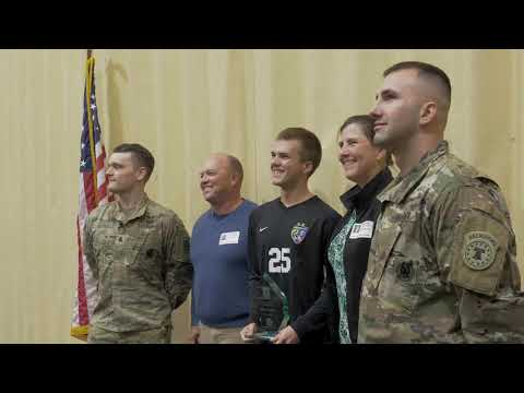 U.S. Army Impact Player of the Month Ethan Coleman - Walkersville High School