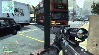MW3 - Best throwing knife kills  !!!