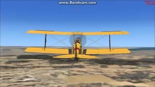 Flight Simulator X DeHavilland Tiger Moth CYHM